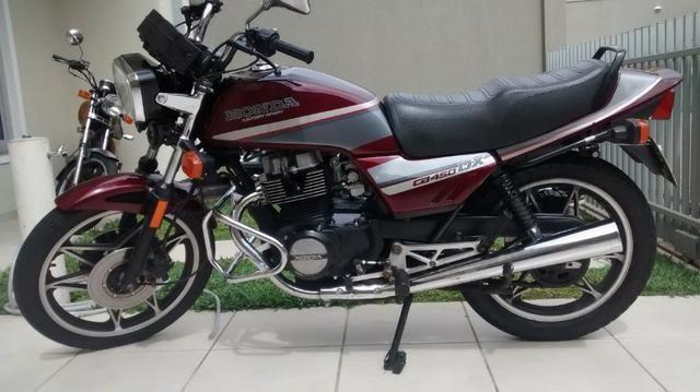 Honda CB 450 DX Colecionador