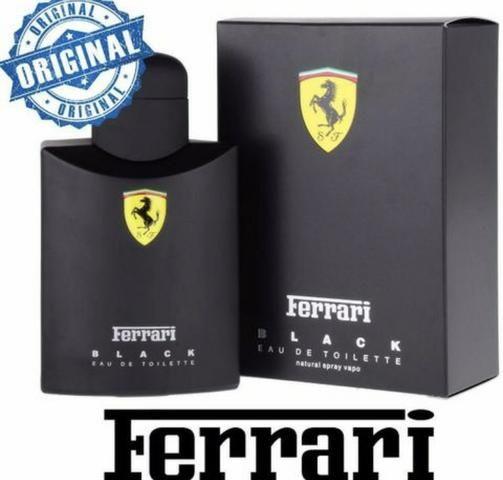 Ferrari Black Perfume Masculino -125ml