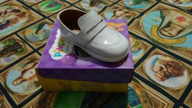 Sapato novo social infantil