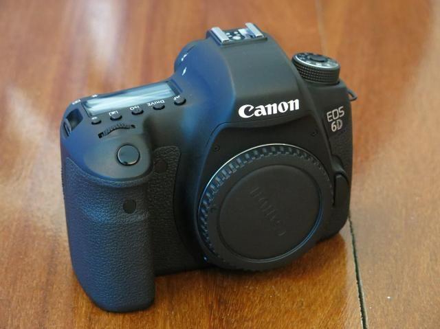 Canon EOS 6d Perfeita e completa