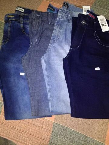 4 Calças Jeans