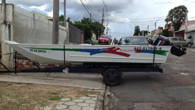 Barco ecologia 16 motor 35hp tdo ok