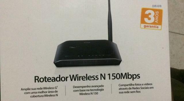 Roteador Wireless N150mbs