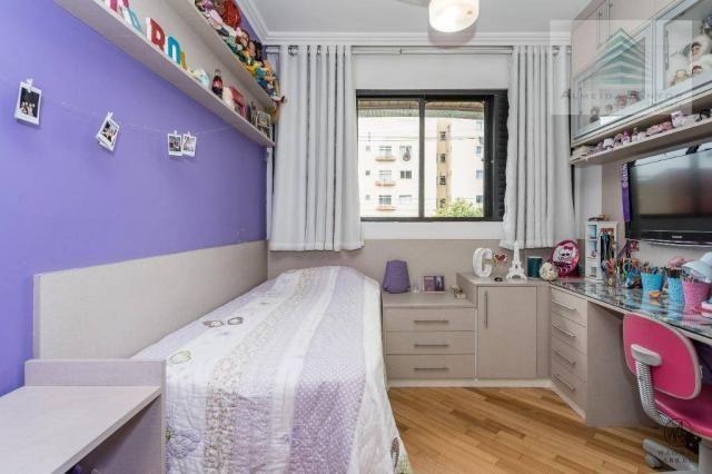 Apartamento com 3 dormitórios à venda, 129 m² por r$ 800.000 - batel - curitiba/pr - Foto 17