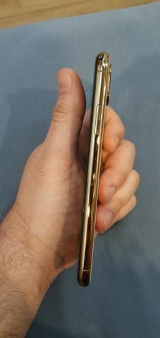 Iphone xs 64gb dourado rose - Foto 6
