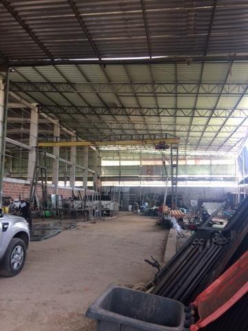 Excelente Galpão/Área Industrial/Comercial 1200m2 em Jardim Prazeres Ótima Localização - Foto 3