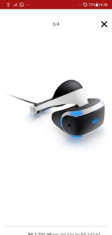 Óculos VR + câmera Playstation - Foto 5