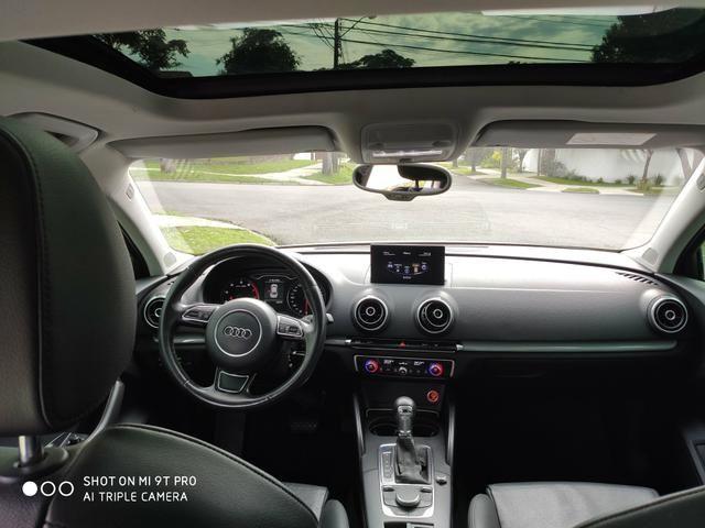 "Audi A3 Sedan 2015 1.8 Ambition 1.8 TFSI 180cv Teto solar ""raridade"" - Foto 15"
