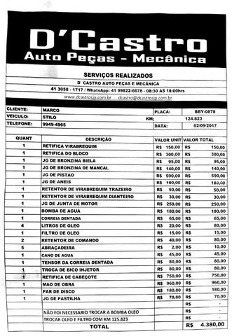 Fiat Stilo Completo - Leia o Anuncio - Foto 10