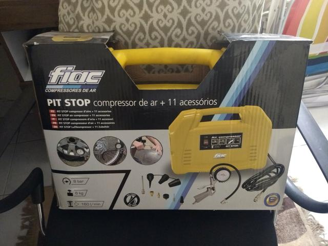 Compressor de ar Pit Stop (novo)