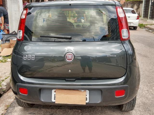 Fiat uno em perfeito estado, licenciamento em dias, sem multas, e dois pneus novos - Foto 2