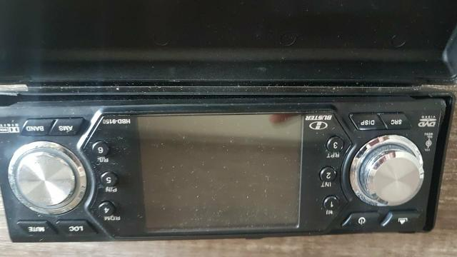 Vendo DVD automotivo marca H Buster modelo 9150 - Foto 6
