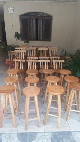 Banquinho de madeira - Foto 3