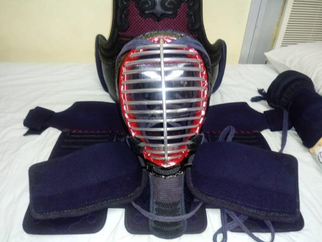 Armadura (Bogu) completa para prática de Kenjutsu