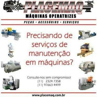 Compra de torno mecânico e cnc fresadora retifica plana compra de máquinas usadas