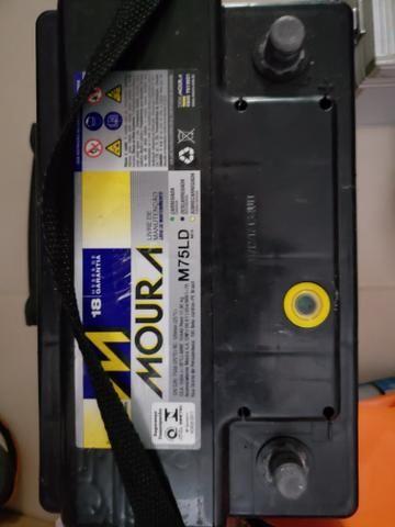 Bateria Moura 75Ah na garantia