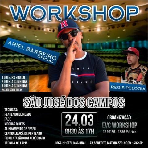 Workshop com Ariel Barbeiro Vale Paraíba
