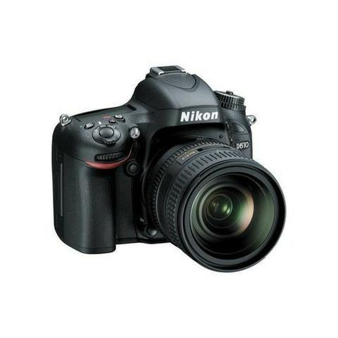 "Câmera Digital Nikon Dslr D610 24.3MP 24-85MM 3.2"""