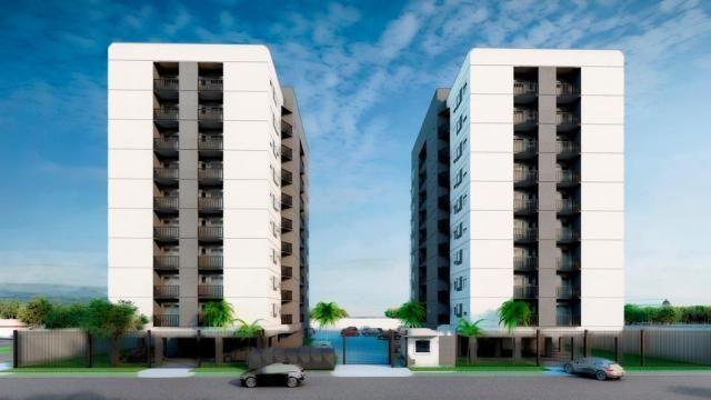 Residencial punta del este, apartamento 2 dormitórios eleva padrão do bairro santo afonso - Foto 2