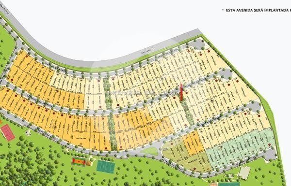 Terreno em condomínio no Condomínio Jardins Munique