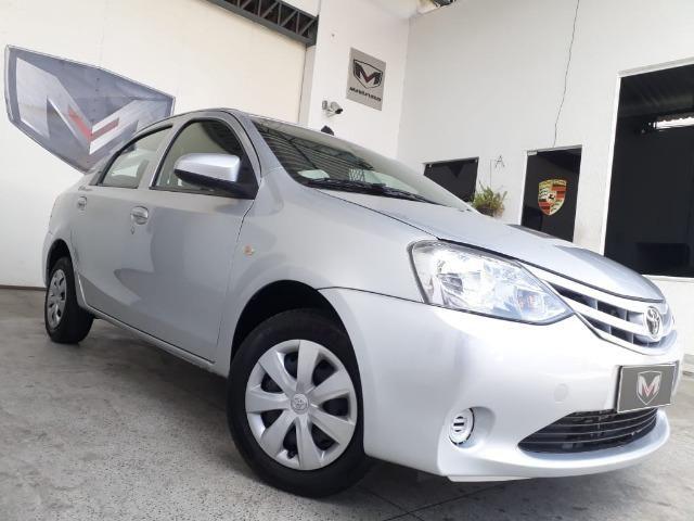 Toyota Etios 1.5 XS 16V Flex Automático 2016/2017 Prata - Foto 4
