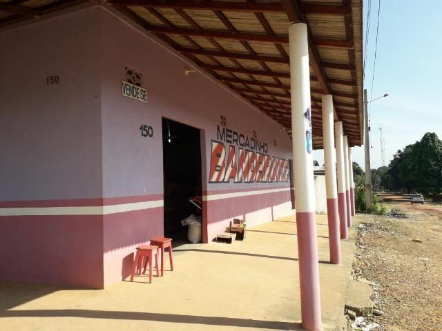 Vendo mercado e casa em São João da baliza - Foto 8