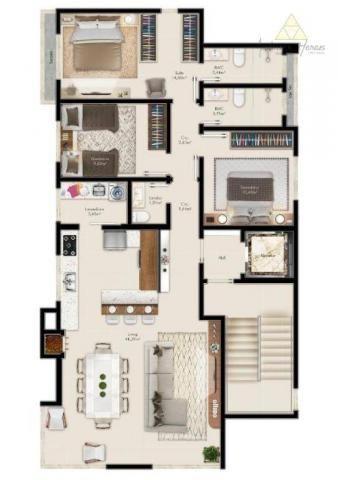 Apartamento à venda, 108 m² por r$ 393.664,00 - itacolomi - balneário piçarras/sc - Foto 2