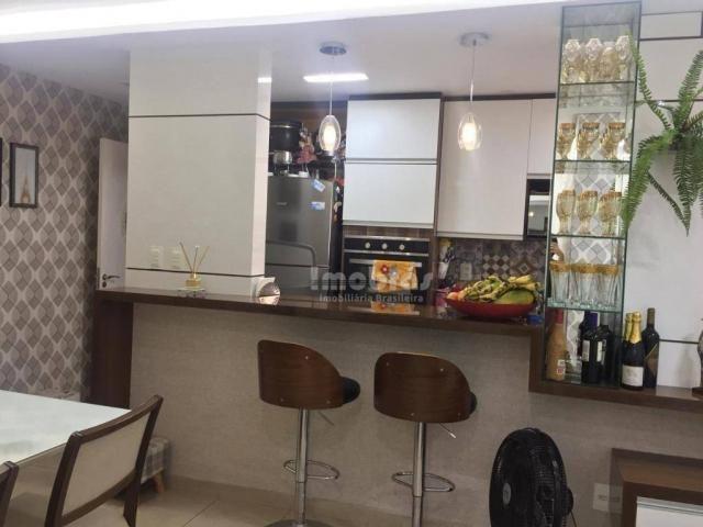 Apartamento com 3 dormitórios à venda, 65 m² por R$ 275.000,00 - Cambeba - Fortaleza/CE - Foto 13