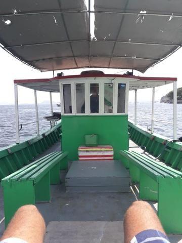 Barco traineira para pesca passeio mergulho - Foto 6