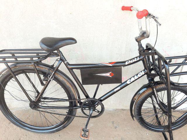 Vendo essa linda bicicleta cargueira 350 entrego.  - Foto 3