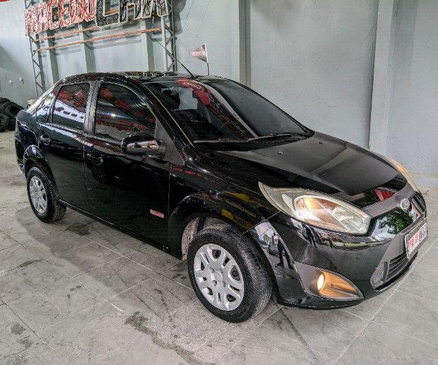 Fiesta Sedan 1.6 2012 É Na Macedo Car!!! - Foto 4