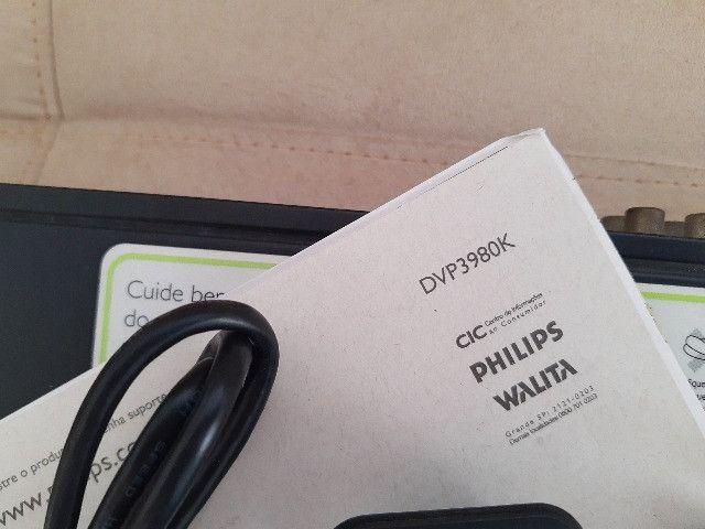 Dvd Philips Dvp3980kx/78 com Karaokê (Tudo funcionando) - Foto 3