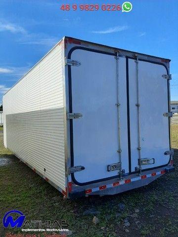 carroceria frigorifica truck caminhão trucado niju 14 paletes - Foto 5