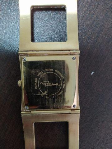 Relógio Roberto Cavalli Feminino Dourado - Foto 6