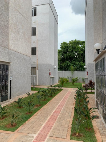 "Alugo apartamento ""novo"" no condomínio "" Jardim de Madri - Bloco com elevador - Foto 6"