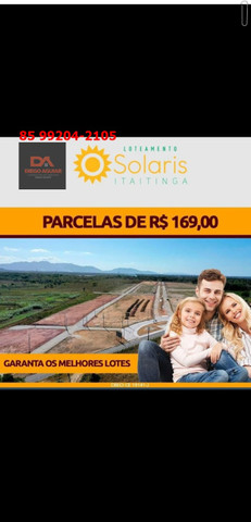 Loteamento Solaris em Itaitinga-Gererau %¨&*( - Foto 8