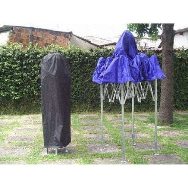Tenda Sanfonada Nylon 2x2 Azul #ProntaEntrega  - Foto 2