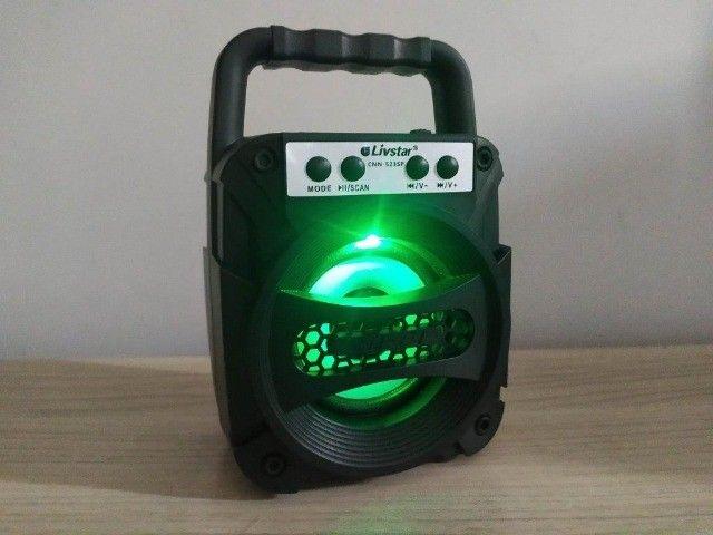 Caixa de som Bluetooth Livstar - Caixinha Top - Foto 4