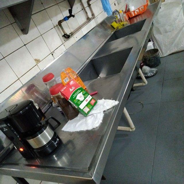 Expositor, Refrigerador, Pia, Coifa, dutos, tudo INOX  - Foto 2