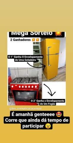 Envelopamento de geladeiras - Foto 2