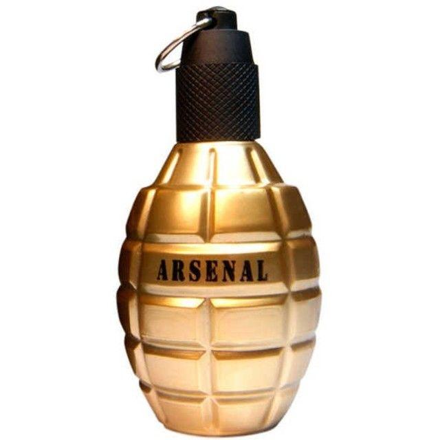 Perfume Arsenal Gold 100ml Gilles Cantuel Edp Novo Lacrado - Foto 3