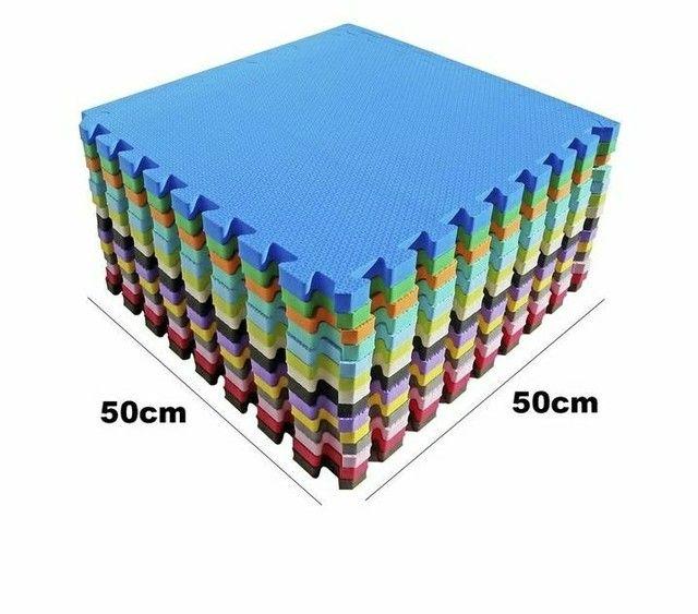 Kit Tatame 50x50x2cm com 8 placas