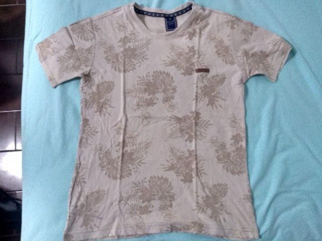 Kit 4 camisas masculinas - Foto 4