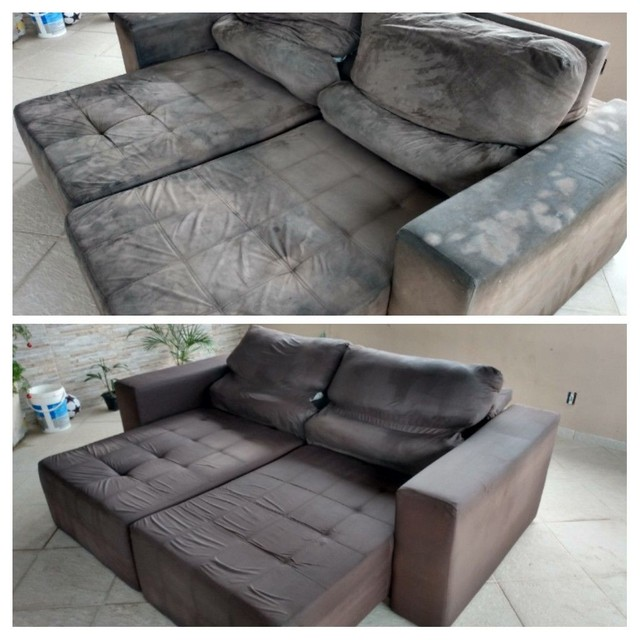 Sofá ENCARDIDO ??? Limpeza de sofá !!! - Foto 3