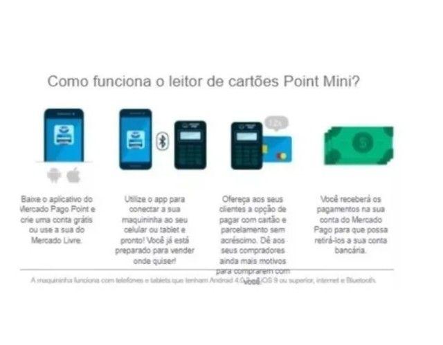 Maquineta Maquininha Cartão- A Point Mini - Foto 4
