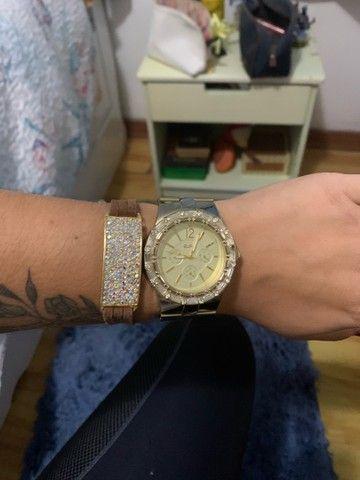 Relógio EURO folheado a ouro  - Foto 3