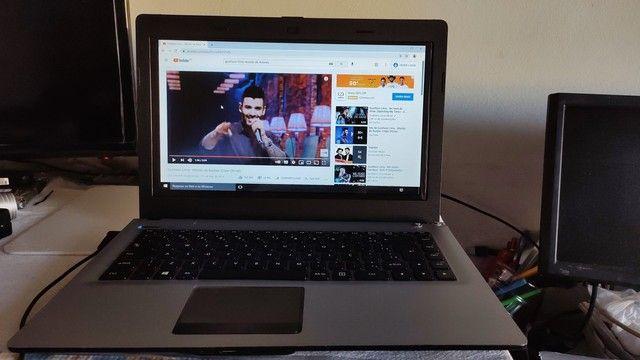 Notebook 4G bem bom! Para estudos e redes sociais! Vídeo HDMI