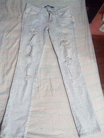 5 calças jeans por 40Reais - Foto 5