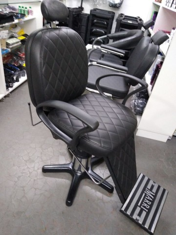 Cadeira para barbeiro reclinável - Foto 6