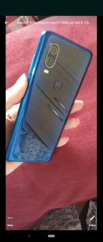 Moto One Vision 128Gb aceito trocas - Foto 4